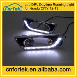 OEM 8 led daytime running light DRL auto parts for Honda CITY 2012-2013