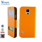 high quality Flip wallet leather case for iphone 5c