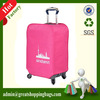 trolley case rose red logo printed dust cover