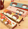 Top popular funny pencil case cartoon style for promotion