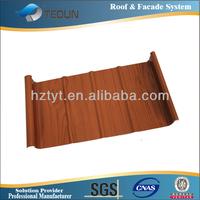 Popular design hot sale standing seam metal roofing sheet