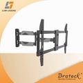 Zarif tam- Hareket 37-70 inç kavisli ve düz panel tv duvara montaj braketi