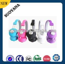 Free samples of promotional headphone Custom