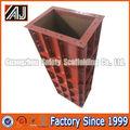Coluna de aço cofragem sistemas para construção de concreto