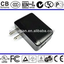 Travel usb charger for phone with usa plug