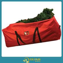 fabric christmas tree storage bag /christmas tree zipper bag