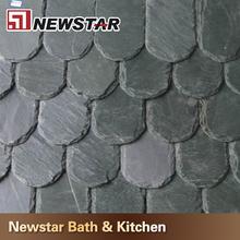 Chinese shaped nautural split roof slate tiles
