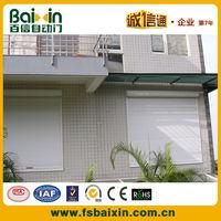 Electric rolling shutter windows