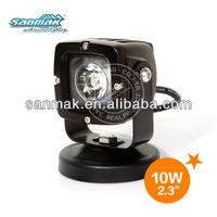 2014 new black led motorcycle auxiliary lights moto led headlight led motorcycle light sm6103