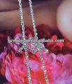 shining mulher luxo sutiã pérola
