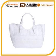 Fashion best family clear beach bag totes white beachware