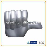 super powerful thumb PU foam stress ball