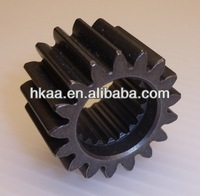 Black Carbon Steel Crank Mounted Straight Cut Motorcycle Transmission Clutch Primary Gear