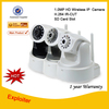 1.0Megapixel IR-CUT ONVIF 720P HD Wireless IP Camera P2P