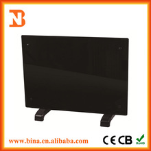 Black Panel Heaters Decorative Electric Wall Panel Heater