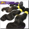 Beautiful Natural Peruvian black bun hair pieces
