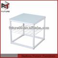 2014 nuevo diseño de la cocina moderna mesa de esquina