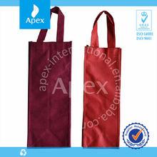 Hot sale non woven wine bag