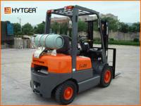 hytger brand 2 t LPG fork lifters tcm forklift part engines/ brand new liquefied petroleum gas &gasoline forklift