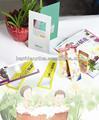 Cartón de papel de la tarjeta lupa plano bm-fm6001