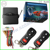 One way car alarm hands free keyless entry system police siren car security system with universal remote for car starter