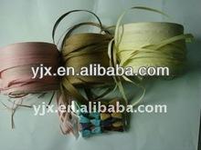 hot sale Colorful Raffia Ribbon Raffia Yarn for wedding packaging