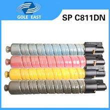 China premium toner cartridge manufacturer supplys SP C811DN for Ricoh color Copiers