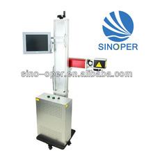 copper / metal / Alu/ silver/ gold / stainless steel Fiber laser marking machine