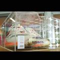 El diseño del oem de acrílico transparente caja de zapatos, caja de cristal orgánico, la costumbre de acrílico transparente cajas de zapatos
