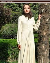 Anmutig dubai maxi-kleid in weißer farbe, kleid marokkanischen kaftan für verkauf
