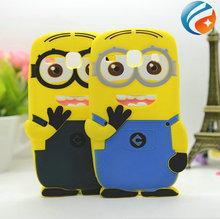 Cute 3D Despicable Me Minion Silicone Case for Samsung Galaxy Core i8260 i8262