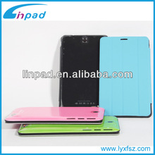 F825 Private Model 3G 7 inch Pad with leather Case,China tablet pc Manufacturer