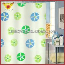 Waterproof Bath Drapes PEVA Cartoon Window Curtain