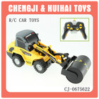 Plastic 6 channel rc truck for sale electric toy