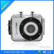 Hot Sale, Full HD Action Camera Outdoor Camcorder DV Sports DVR Helmet Waterproof Digital Video Camera, 6 Colors