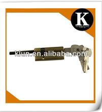 euro profile brass cylinder lock with knob