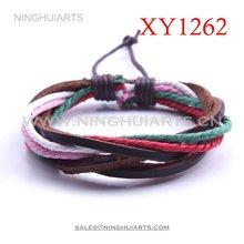 wholesale gothic leather bracelets luxury leather bracelet leather thong for bracelets Alibaba China Supplier