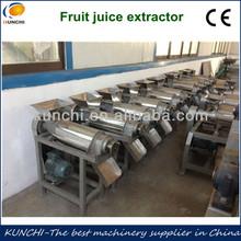 Hot sale!!! Fruit and vegetable spiral juicer/ Mango/pear/apple juice making machine