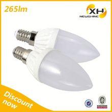 Factory Price E14 Led Candle Lighting Lamp / E14 E12 Led Candle Lighting