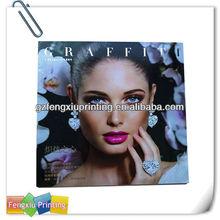 Customized Fashion Professional Advertising Magazine Printing