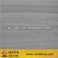China Grey Wood vein marble flooring tile, big slab