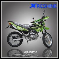 cheap china motors 200cc bikes water cooling dirt motorcycles