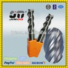 JINOO Germany technology end mill HRC48 tungsten carbide cutter