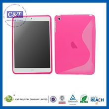 C&T Classical jelly flexible defender housing for ipad mini cover one direction