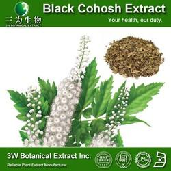 GMP&ISO Cimicifuga Racemosa P.E./Natural Black Cohosh Extracts Powder/Black Cohosh Extract