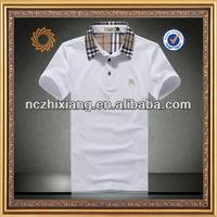 2014 Brand Logo Polo Shirt Cotton Pique Polo Shirt Korean Men Polo Shirts