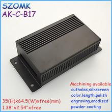 TOP sales black aluminum electrical junction box