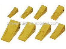 excavator bucket teeth for Komatsu/Hitachi/Kobelco/Hyundai/Doosan/Volvo bucket tooth
