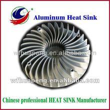 Aluminum die casting Heat sink for washing machine use