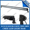 JGL cree off road led light bar truck led light bar 288w waterproof
